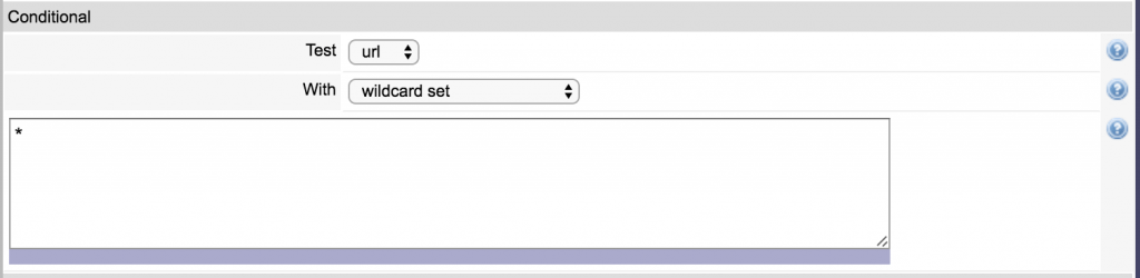 wex converter conditional settings