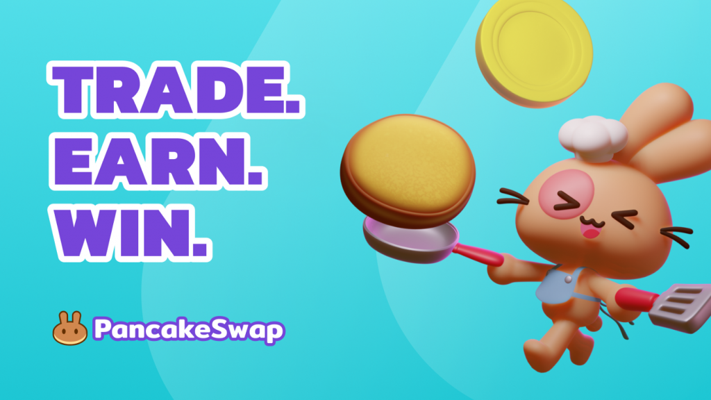 pancakeswap trade earn swap